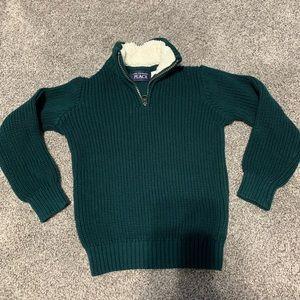 Children's Place half-zip sweater